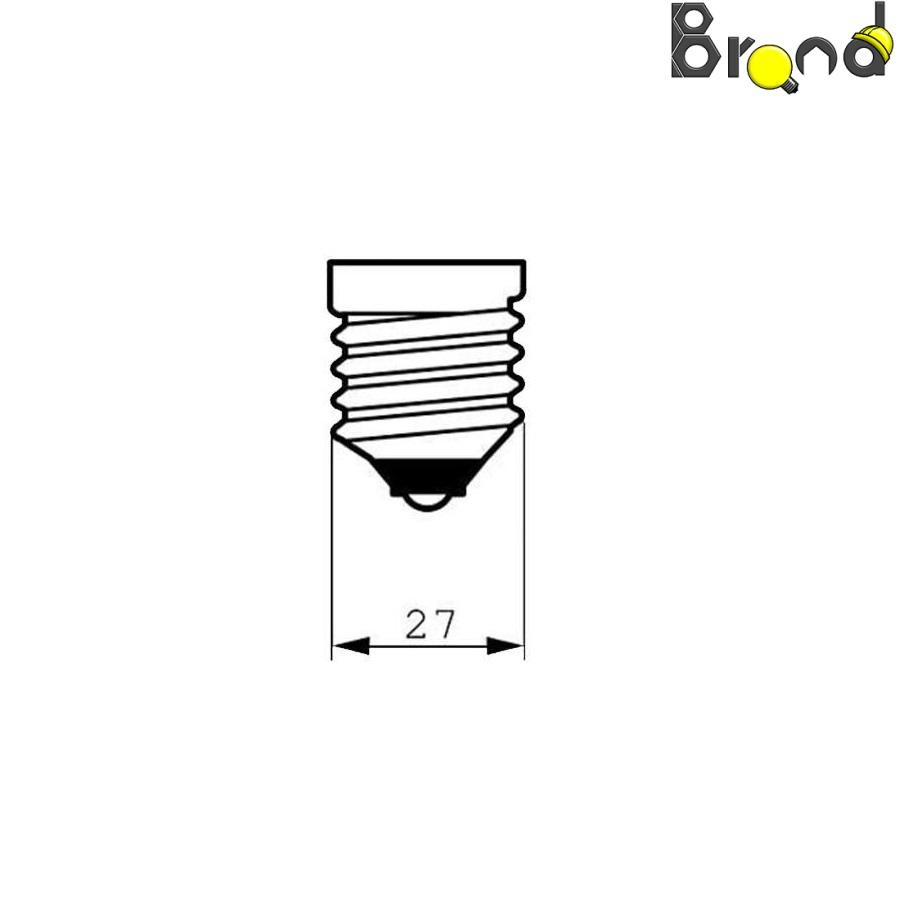 لامپ ال ای دی ۱۲ وات دلتا مدل کلاسیک پایه E27