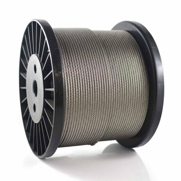 سیم بکسل استیل ساختار 7X7 , Stainless Steel 304 Wire Rope , بگیر 304 , نگیر 316