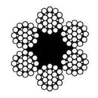 سیم بکسل استیل بگیر ۳۰۴ ساختار ۶X19 , سیم بکسل استیل نگیر ۳۱۶ ساختار ۶X19 , Stainless Steel Wire Rope