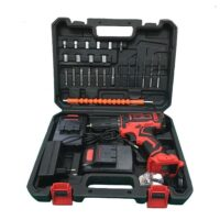 Set of 28 Gretec cordless screwdriver drills model GTLD6218 NEW 2021